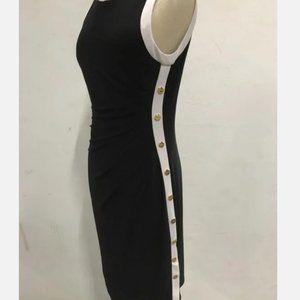 Ralph Lauren Black & White Sleeveless Dress